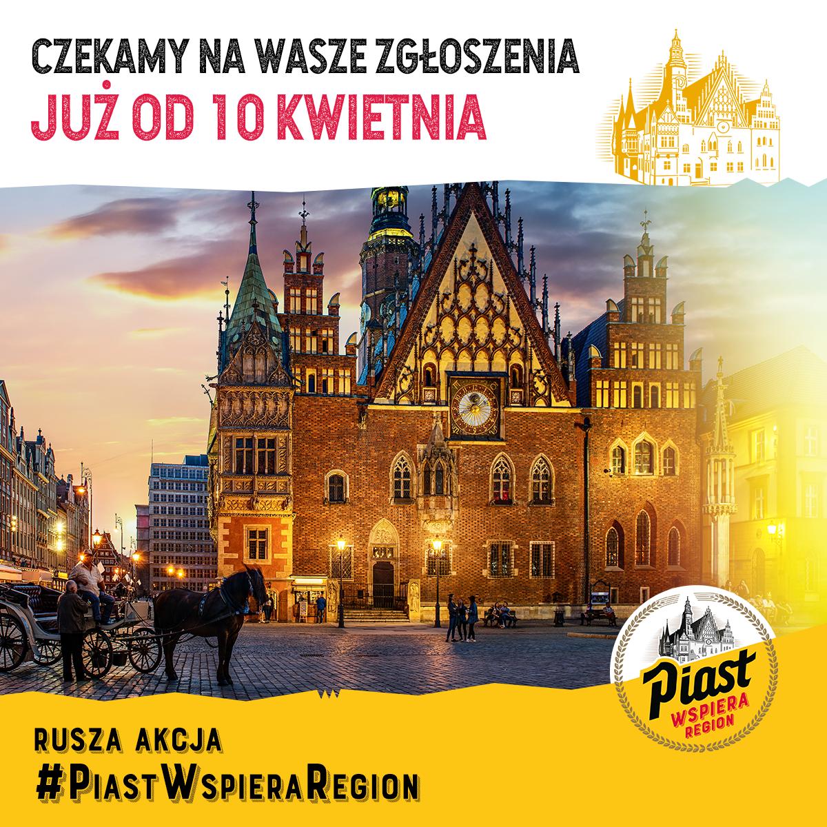 Witamy na fanpage'u akcji Piast Wspiera Region!